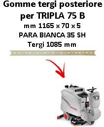TRIPLA 75 B  BAVETTE ARRIERE Comac