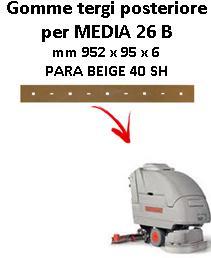 MEDIA 26 B BAVETTE ARRIERE Comac