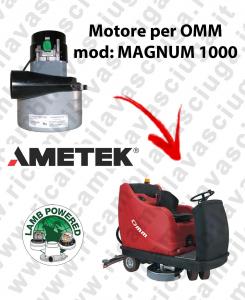 MAGNUM 1000 Saugmotor LAMB AMETEK für scheuersaugmaschinen OMM