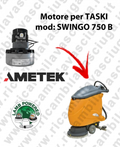 SWINGO 750 B Saugmotor LAMB AMETEK für scheuersaugmaschinen TASKI