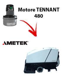 480 MOTEUR ASPIRATION AMETEK autolaveuses TENNANT