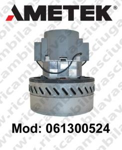 MOTEUR ASPIRATION 061300524 AMETEK pour autolaveuses et aspirateur