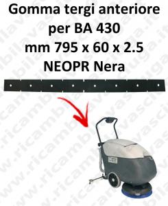 BA 430 Vorne Sauglippen für scheuersaugmaschinen NILFISK