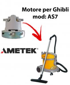 AS7  MOTEUR ASPIRATION AMETEK ITALIA pour aspirateur GHIBLI