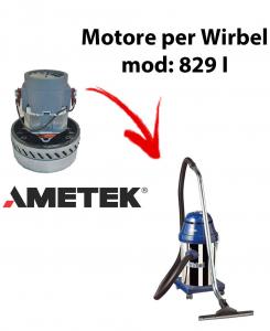 829 I MOTEUR ASPIRATION AMETEK pour aspirateur et aspirateur WIRBEL