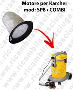 SP 8 / COMBI Leinwandfilter für Staubsauger GHIBLI
