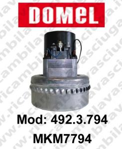 MOTEUR ASPIRATION DOMEL 492.3.794 MKM7794 pour aspirateur et autolaveuses