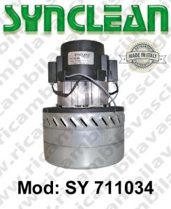 MOTEUR ASPIRATION SY 711034 SYNCLEAN pour autolaveuses et aspirateur