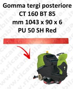 CT 160 BT 85 Hinten sauglippen für scheuersaugmaschinen IPC