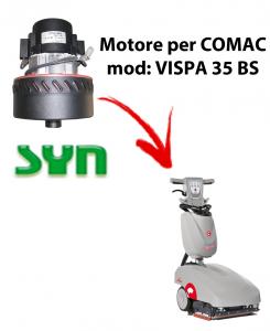 VISPA 35 BS MOTEUR ASPIRATION SYN pour autolaveuses Comac