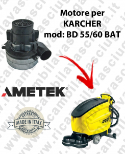 BD 55/60 BATT Saugmotor AMETEK für scheuersaugmaschinen KARCHER