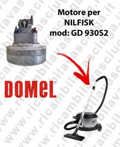 GD 930S2 Saugmotor DOMEL für Staubsauger NILFISK