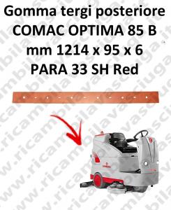 OPTIMA 85B Hinten sauglippen für scheuersaugmaschinen COMAC