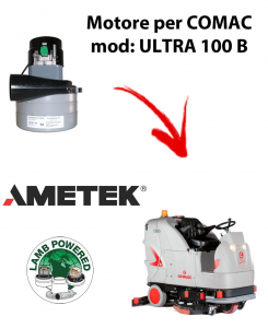 ULTRA 100 B MOTEUR ASPIRATION AMETEK pour autolaveuses Comac