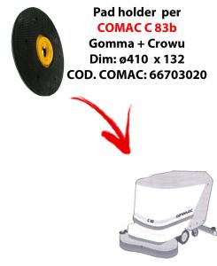 Plateau ( pad holder) pour autolaveuses COMAC C 83.