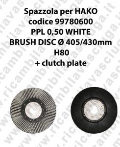 Bürsten code 99780600 für scheuersaugmaschinen HAKO