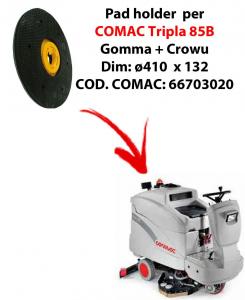 Plateau ( pad holder) pour autolaveuses COMAC Tripla 85B.