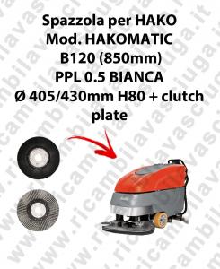 HAKOMATIC B120 (850mm) Bürsten für scheuersaugmaschinen HAKO