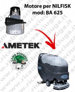 BA 625 MOTEUR ASPIRATION LAMB AMETEK pour autolaveuses NILFISK