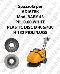 BABY 43 Bürsten für scheuersaugmaschinen ADIATEK
