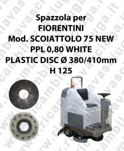 SCOIATTOLO 75 NEW Bürsten für scheuersaugmaschinen FIORENTINI