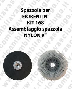 KIT 168 Bürsten NYLON für scheuersaugmaschinen FIORENTINI