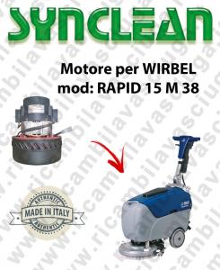 RAPID 15 M 38 Saugmotor SYNCLEAN für scheuersaugmaschinen WIRBEL