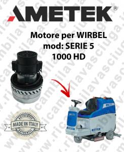 SERIE 5 1000 HD Saugmotor AMETEK für scheuersaugmaschinen WIRBEL