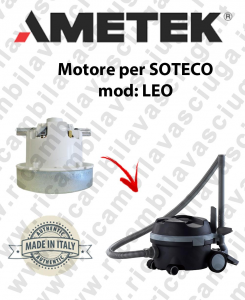LEO Saugmotor AMETEK für Staubsauger SOTECO