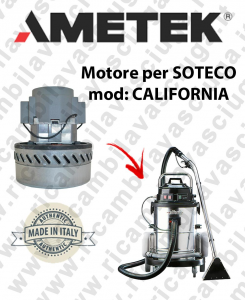 CALIFORNIA Saugmotor AMETEK für Staubsauger SOTECO