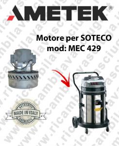 MEC 429 Saugmotor AMETEK für Staubsauger SOTECO