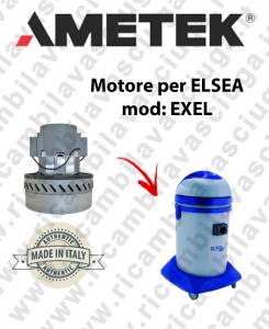 EXEL Saugmotor AMETEK für Staubsauger und trockensauger ELSEA