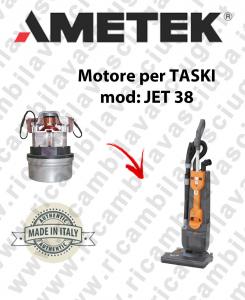 JET 38 Saugmotor AMETEK für Staubsauger TASKI