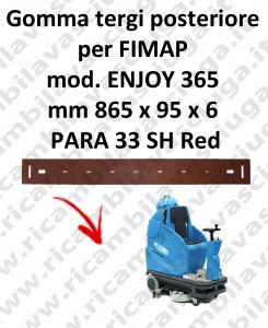 ENJOY 365 Hinten sauglippen für scheuersaugmaschinen FIMAP