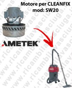 SW20 MOTEUR AMETEK aspiration pour aspirateur et aspirateur à eau CLEANFIX