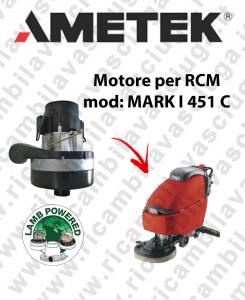 MARK I 451 C Saugmotor AMETEK für scheuersaugmaschinen RCM