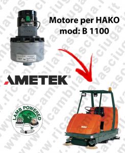 B 1100 MOTEUR ASPIRATION LAMB AMATEK pour autolaveuses HAKO