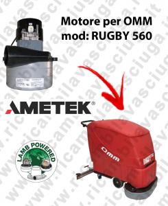 RUGBY 560 MOTEUR ASPIRATION LAMB AMATEK pour autolaveuses OMM