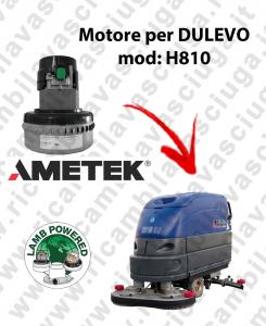H810 MOTEUR ASPIRATION LAMB AMATEK pour autolaveuses DULEVO