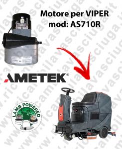AS710R MOTEUR ASPIRATION LAMB AMETEK pour autolaveuses VIPER