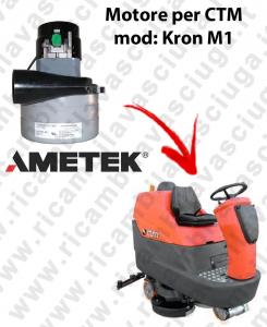 KRON M1 MOTEUR ASPIRATION LAMB AMATEK pour autolaveuses CTM
