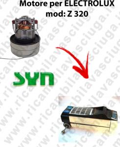 Z 320 automatic MOTEUR SYN aspiration pour aspirateur ELECTROLUX