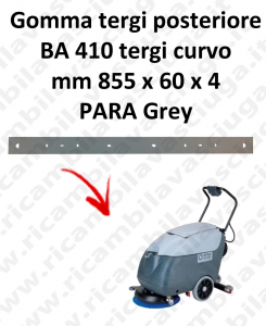 BA 410 BAVETTE ARRIERE pour autolaveuses curvo Nilfisk