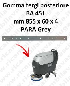 BA 451 BAVETTE ARRIERE pour autolaveuses Nilfisk