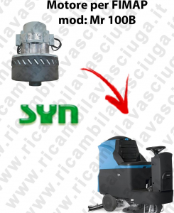 Mr 100 B MOTEUR ASPIRATION SYN pour autolaveuses Fimap