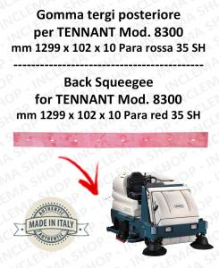 8300 Hinten sauglippen Para Rot 35 SH für scheuersaugmaschinen TENNANT