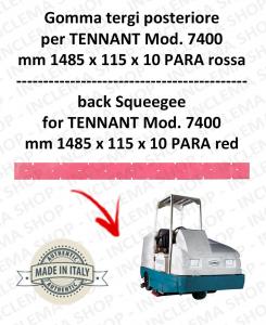 7400 Hinten sauglippen Para Rot für scheuersaugmaschinen TENNANT
