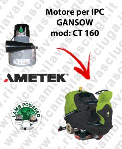 CT 160 MOTEUR ASPIRATION LAMB AMATEK pour autolaveuses IPC GANSOW