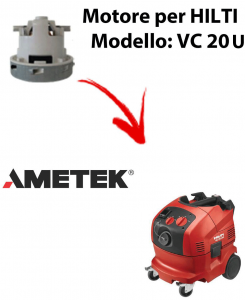 VC 20 U automatic MOTEUR ASPIRATION AMETEK pour aspirateur HILTI