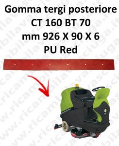 CT 160 BT 70 BAVETTE ARRIERE pour autolaveuses IPC